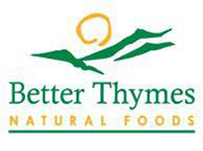 Better Thymes Natural Foods Logo