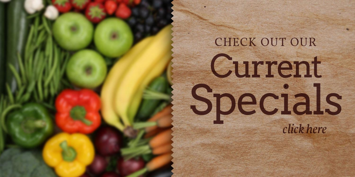 Better Thymes Natural Foods Current Specials Slider